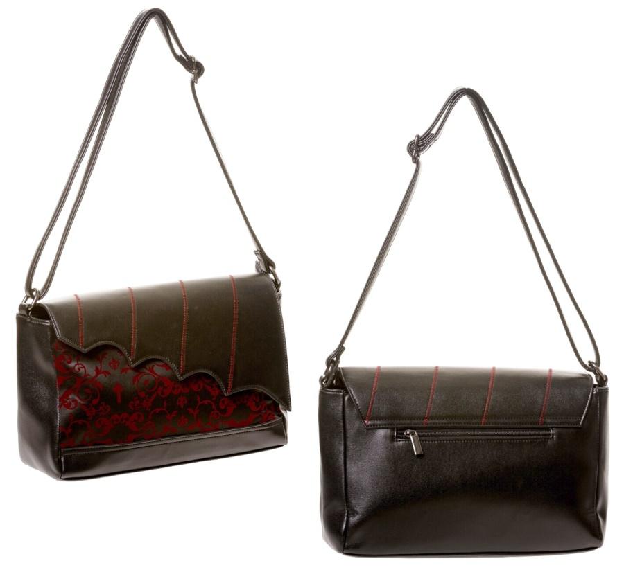 190f07990f03b Handtasche Fledermaus Banned - Banned Taschen - Gothic Onlineshop ...