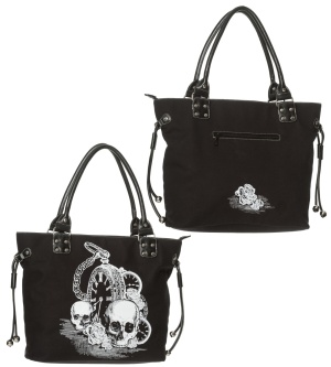 Handtasche/Shoppingbag Skull Banned