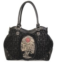 Handtasche Skelettlady Banned