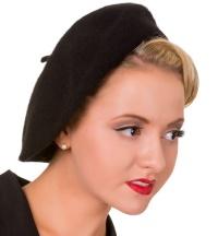Vintage Baskenmütze Banned
