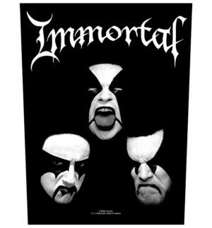 Rückenaufnäher Immortal