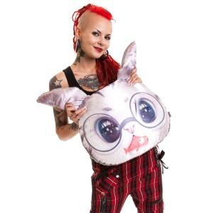 Cat Fish Kissenhülle Cupcake Cult