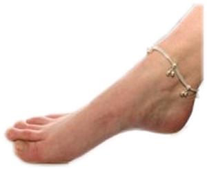 Fußkette indisch