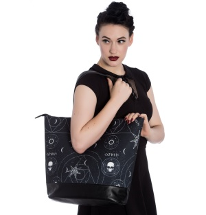 Dark Magic Tote Bag Tasche Occult Hellbunny