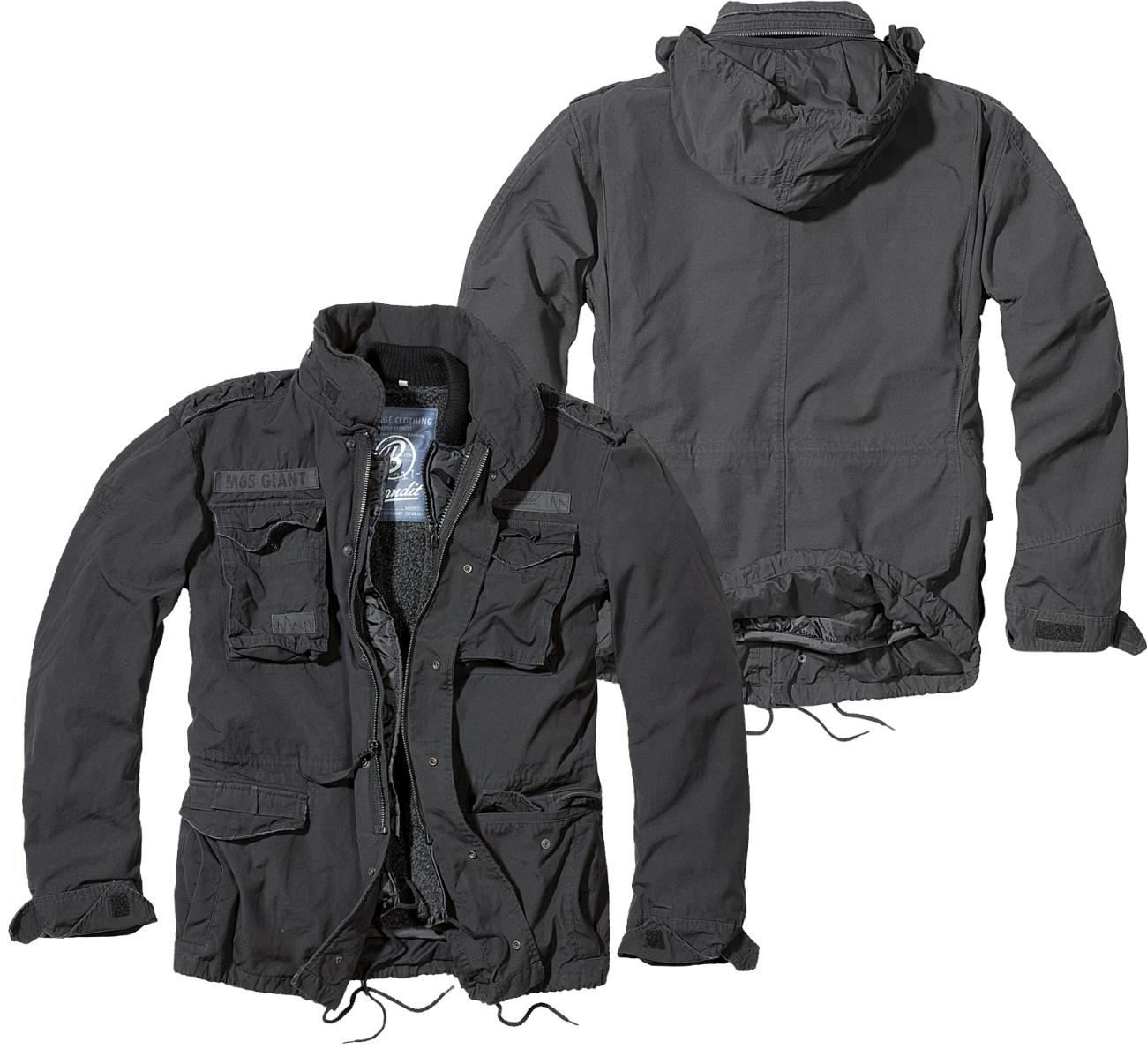 M65 Giant Jacke schwarz