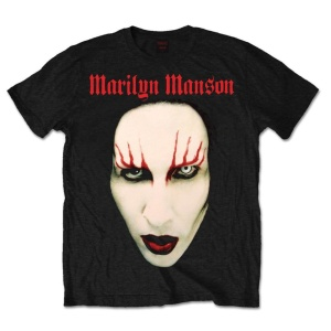 Marily Manson Red Lips Tshirt