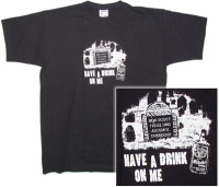 Ac Dc Bon Scott Have a Drink on me Tshirt