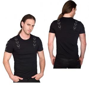 Herren Tshirt im Gothicstil Battle Shirt Aderlass