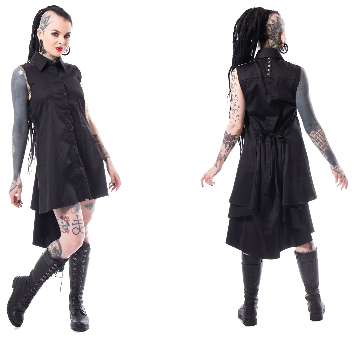 Aino Dress Blusenkleid Heartless - Heartless Kleider - Details ...