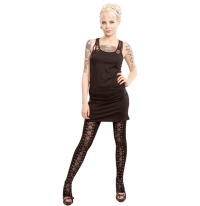 Leggings geschnürt /Gothic Heartless