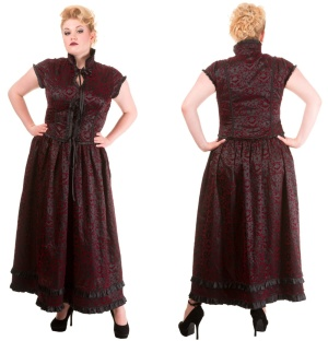 6c8c3c4a8546c2 After Death Mini Dress Tunika Spin Doctor Plussize in XXXL - Spin ...