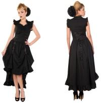 Gothic Kleid Banned Alternative Wear bis Plussize