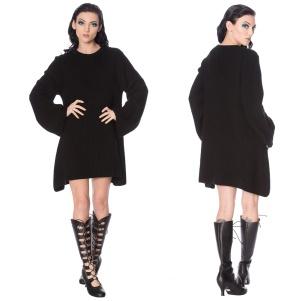 Black Magma Dress Kleid Banned