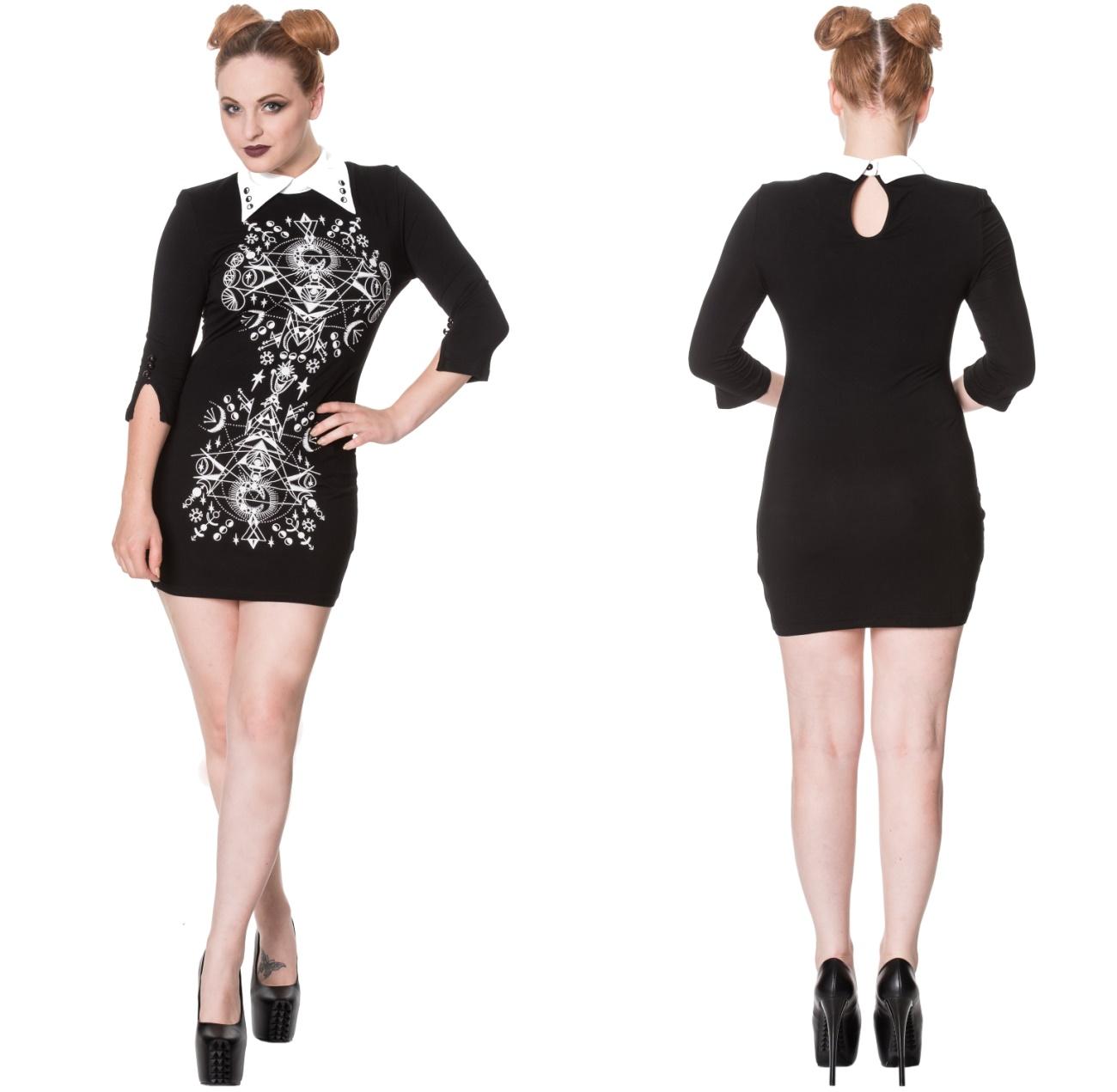 Shirtkleid Gothicmotive Banned - Banned Kleider - Details - Gothic ...