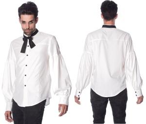 Männerhemd mit Kragenbinder Banned