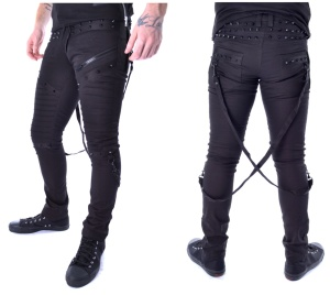 Nietenjeans Chrome Vixxsin