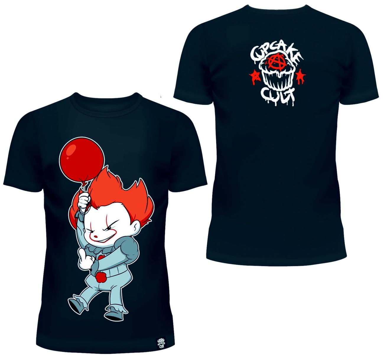 Clown T-Shirt Cupcake Cult