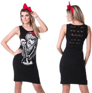 Kleid/Longshirt Crow Girl Vixxsin