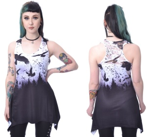 Crow Night Vest Ladies Vixxsin
