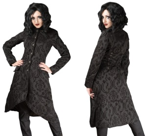 Brokatmantel Ives Coat Dracula Clothing
