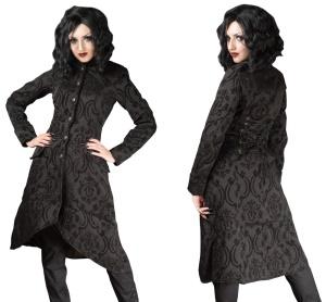 Brokatmantel Ives Coat Dracula Clothing