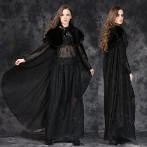 Gothic Cape lang Dark in Love