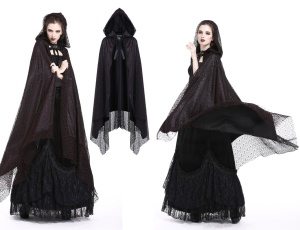 Gothic Cape Dark in Love