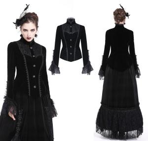 Gothic Samtjäckchen Dark in Love