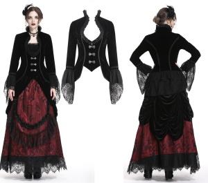 Gothic Damenfrack Dark in Love