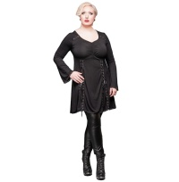 Shirtkleid Tunika Plussize Queen of Darkness