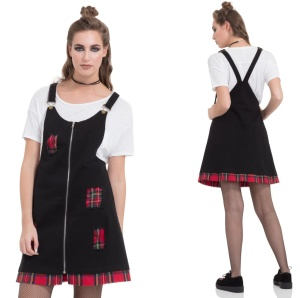 Punk Me Dress Tartan Kleid Jawbreaker
