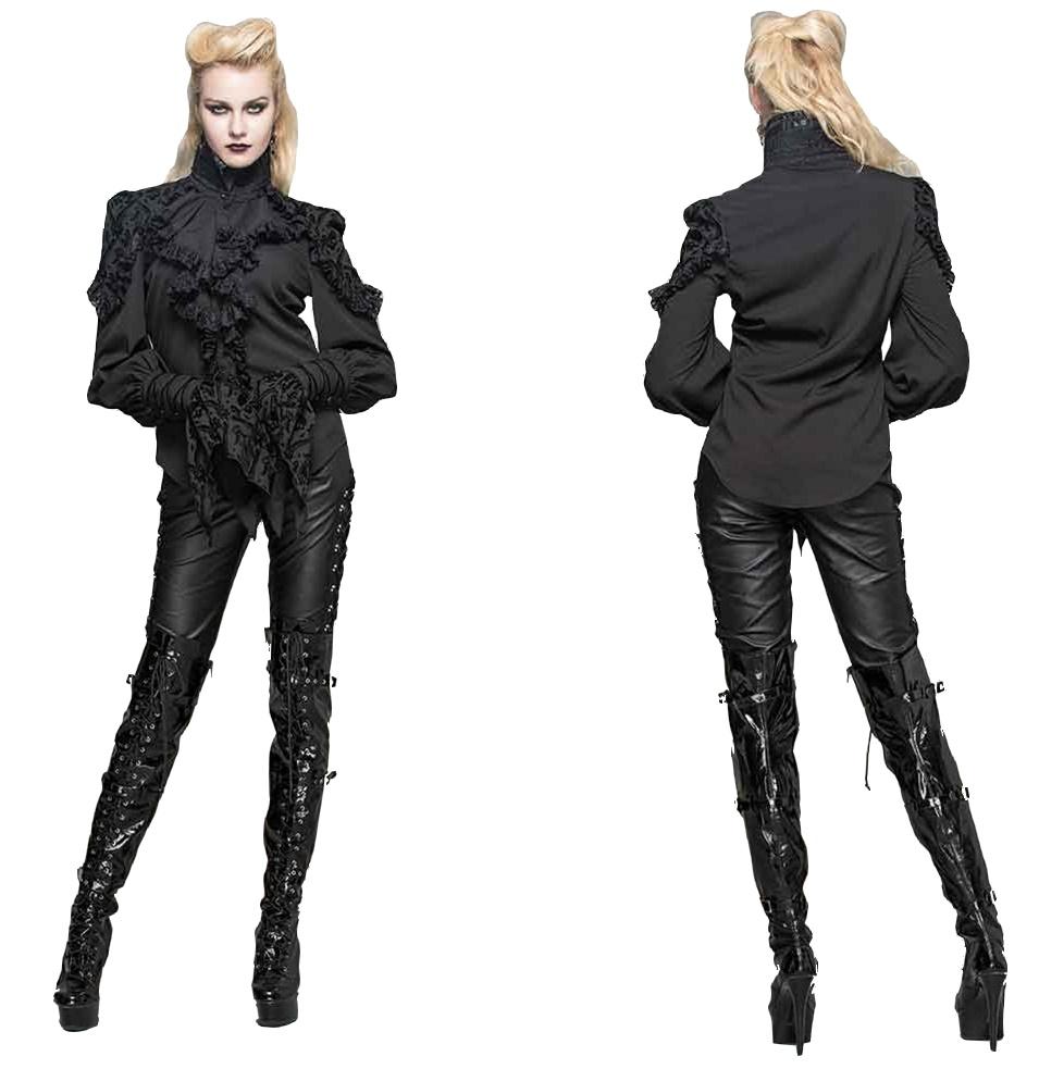 Tabbatha Shirt Gothicbluse Devil Fashion Devil Fashion