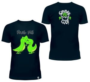Dino Hug Me T-Shirt Cupcake Cult