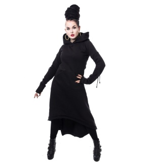 Oversized Sweat Winterkleid Elettra Hood Heartless