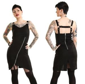 Eventide Dress Heartless Punkiges Minikleid