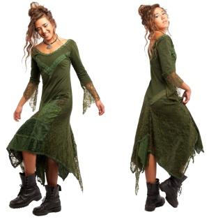 Kleid Nature im Elfen und Feen Punk Look