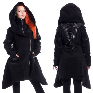 Fleece Mantel Hunch Coat Heartless