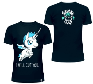 I will Cut you T-Shirt Cupcake Cult