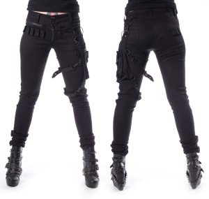 Isak Pan Heartless Gothic Damen Hose