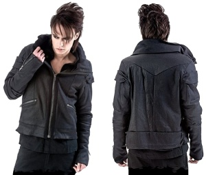 Herren Winterjacke Queen of Darkness