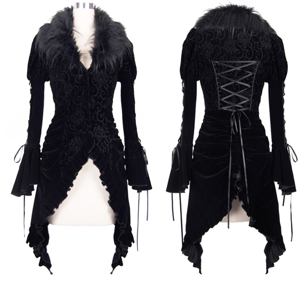 Gothicfrack Damen Devil Fashion Devil Fashion Girljacken