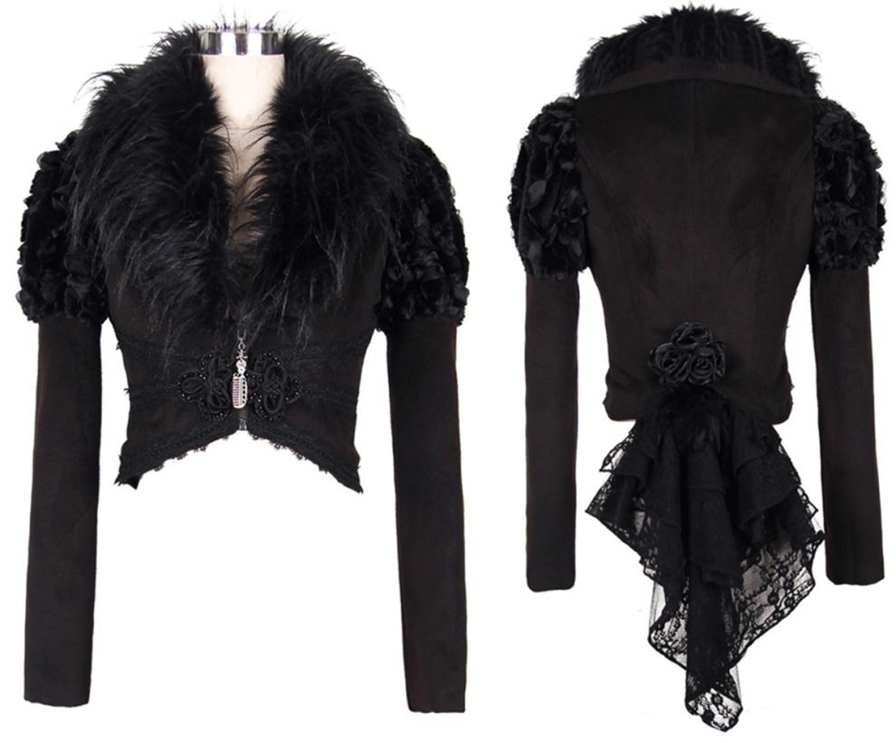 Gothic Kurzjacke Devil Fashion Devil Fashion Girljacken