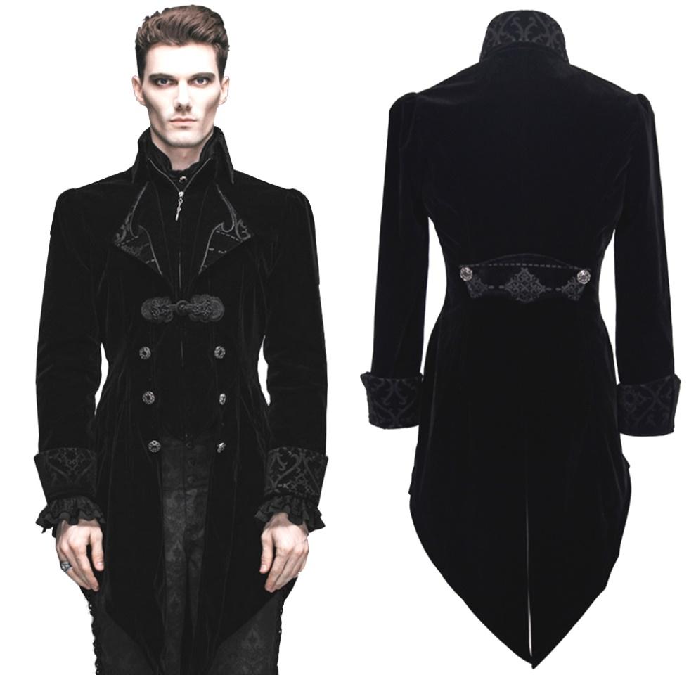 gothic herren frack devil fashion m nnerjacken details. Black Bedroom Furniture Sets. Home Design Ideas