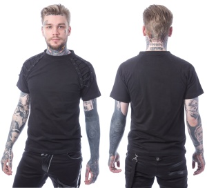 Herren T-Shirt Kade Top Chemical Black