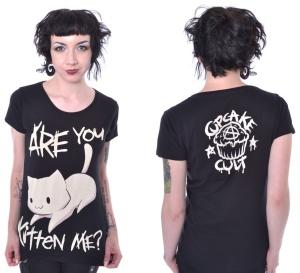 Kitten Me Tshirt Cupcake Cult