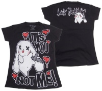 Girl Shirt Comic Evil Clothing Luv Bunny