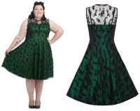 Rock n Roll Kleid Cocktailkleid Jawbreaker PlusSize
