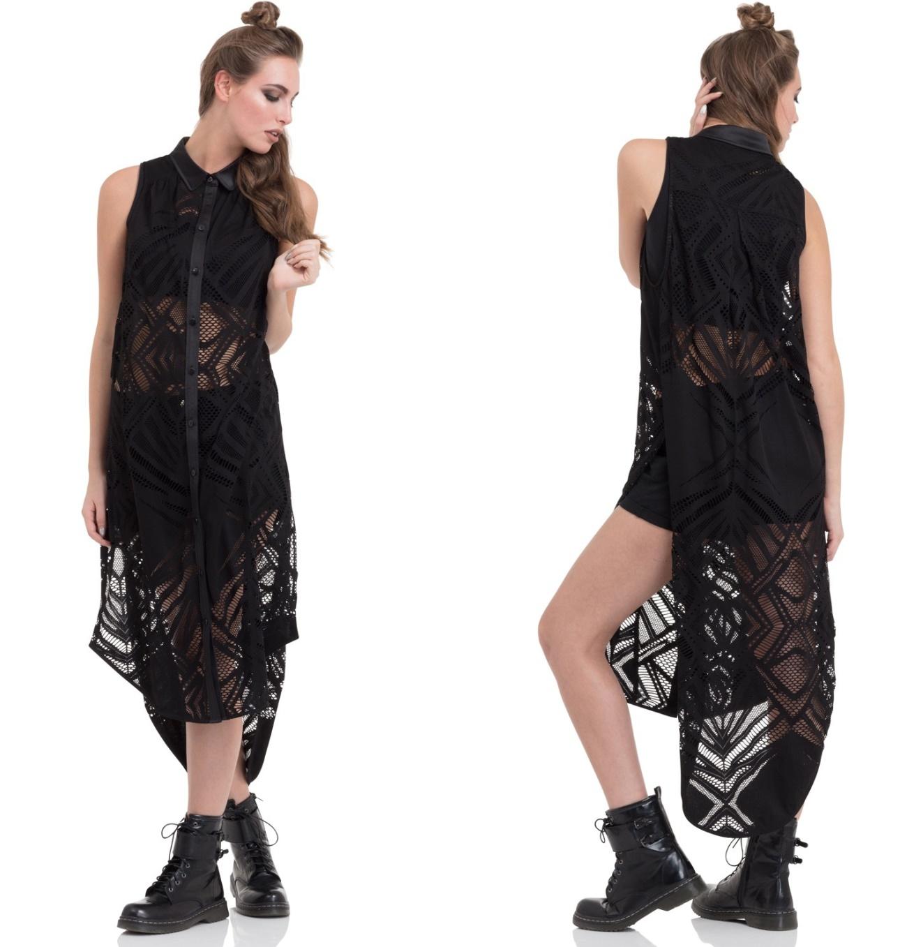 Geo Shirt Dress Grunge Jawbreaker - Jawbreaker Kleider - Details ...