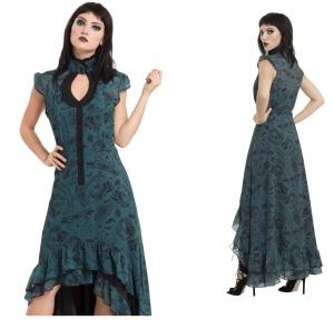 Langes Kleid im viktorianischen Stil Jawbreaker