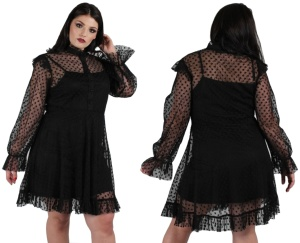 Mesh with my Heart Dress Jawbreaker Plussize